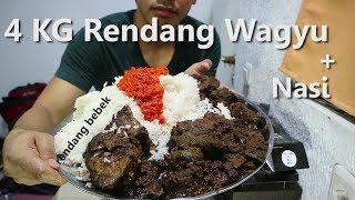 Download MUKBANG | 4 KG Rendang Wagyu + Nasi Video