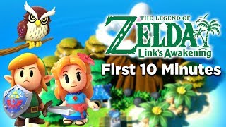 Download The Legend of Zelda: Link's Awakening (Switch) | First 10 Minutes (Direct Feed) Video