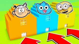 Download DO NOT CHOOSE THE WRONG HOUSE (LOUD HOUSE, GUMBALL, MINIONS)(Ps3/Xbox360/PS4/XboxOne/PE/MCPE) Video