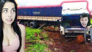 Download CAMINHÃO NA PIOR ESTRADA DO BRASIL !! - Euro Truck Simulator 2 Video