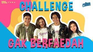Download #TERUPDATE - CHALLENGE GAK BERFAEDAH BARENG CAST FILM ROMPIS Video