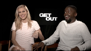 Download GET OUT interviews - Jordan Peele, Allison Williams, Daniel Kaluuya Video