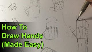Download How to Draw Hands Easy Step by Step Narrated Tutorial Video