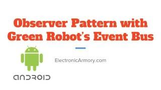 Download EventBus and Observer Pattern - Android App Development Video