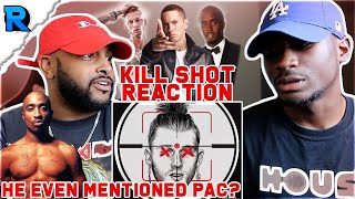 Download K!LLSHOT x EMINEM (MGK DISS) | HE MENTIONED THE DIDDY AND PAC SITUATION | REACTION Video