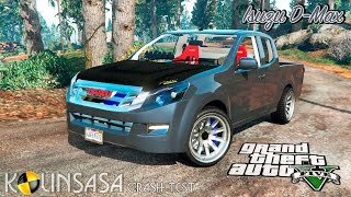 Download GTA 5 Crash test - Isuzu D-Max Video