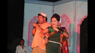 Download Dada Kondake Songs & Comedy Act By Seema Pote & Sudhakar Pote/ Swaradhin shows Video