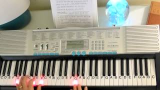 Download How to Play ~ Rudolph, the Red-Nosed Reindeer ~ Johnny Marks ~ LetterNotePlayer © Video