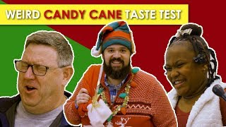 Download Can People Guess these Weird Candy Cane Flavors? Video