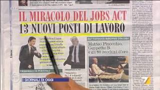 Download Omnibus - Rassegna stampa (Puntata 11/04/2015) Video