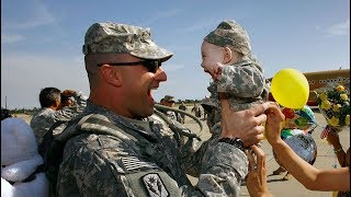 Download WELCOME HOME DADDY - Soldiers Homecoming Surprise Their Kids Compilation Video