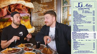 Download Trying Everything on the Menu at NYC's Most Famous Burger Restaurant (Ft Brad Leone) | Bon Appétit Video