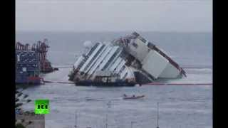 Download El enderezamiento de Costa Concordia en 2 minutos Video