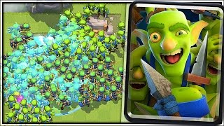 Download GOBLIN GANG SWARM - Clash Royale New Card Gameplay Video