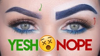 Download Eyebrows 101: Makeup Mistakes & Tips | KristenLeanneStyle Video