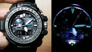 Download Casio G-shock Gulfmaster GWN-1000C-1A *Unboxing + LED Demo Video