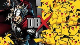 Download Thor VS 100 Pikachu | DBX Video