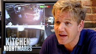 Download Owner Loves to Watch CCTV of People Falling Over | Kitchen Nightmares Video