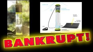 Download 'Self-filling water bottle' goes BANKRUPT!! Video