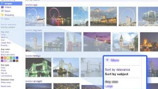 Download Google Images with sorting Video