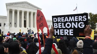Download Watch live: 'Dreamers' rally outside the Supreme Court as DACA case is heard Video