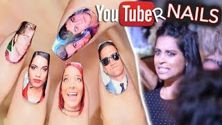 Download I put YouTubers on my nails and they all saw Video