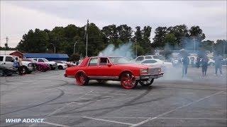 Download WhipAddict: Red Chevrolet Caprice LS w/406 on Asanti 26s doing Dounts and Burnouts. Atlanta, GA Video
