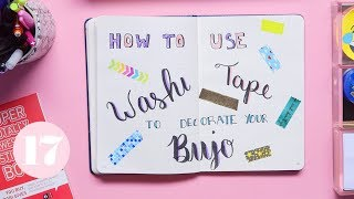 Download Washi Tape Hacks for Your Bullet Journal | Plan With Me Video