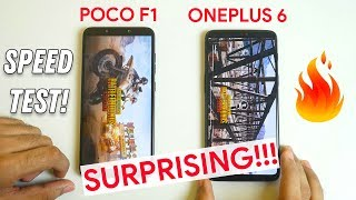 Download POCO F1 vs OnePlus 6 Speed test with 20 Apps I Multitasking test (Both 8GB) Video