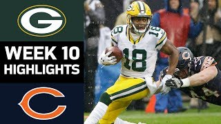 Download Packers vs. Bears | NFL Week 10 Game Highlights Video