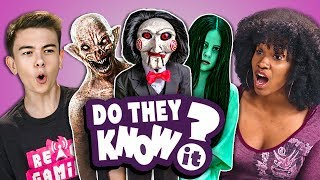 Download Do Teens Know 2000s Horror Films? (React: Do They Know It?) Video