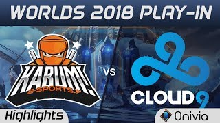 Download KBM vs C9 Highlights Worlds 2018 Play In Kabum Esports vs Cloud9 by Onivia Video