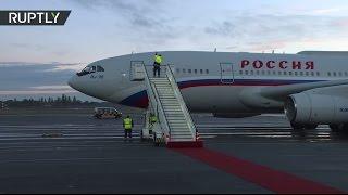 Download Прилет Путина в Берлин на встречу «нормандской четверки» Video