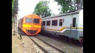 Download Kereta Api Bangunkarta BisEks & KRL Rheos Jeruk + Silver Video
