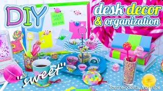 Download DIY Desk Decor And Organization Ideas In Candy Style – How To Make Your Desk Looks Sweet Video