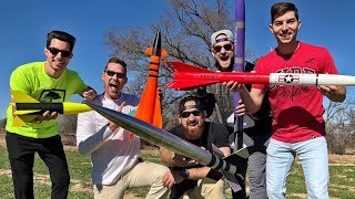 Download Model Rocket Battle | Dude Perfect Video