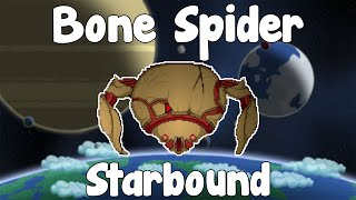 Download NEW BOSS! Bone Spider - Starbound Guide Nightly Build Video
