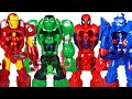 Download Marvel suits are stolen! Hulk, Spider Man! Attack dinosaurs with super mech armor! - DuDuPopTOY Video
