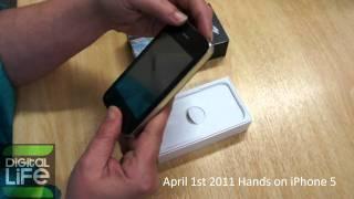 Download April 1st 2011 Hands on iPhone 5 (GREEK).avi Video