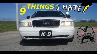 Download 9 Things I HATE About My Crown Victoria Police Interceptor Video