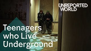 Download Ukraine's teens living underground to stay alive | Unreported World Video