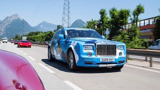 Download Transporting Models In A Rolls-Royce Challenge [Modball Rally] Video