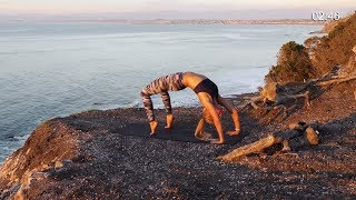 Download Yoga For Anxiety - True Beginner Fitness Challenge & Meal Plan Day 18 Video