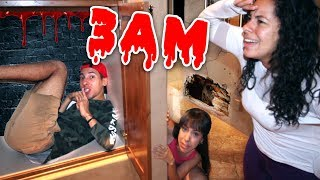 Download Playing Sardines in a HAUNTED MANSION at 3AM! Video