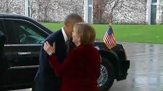 Download President Obama and Angela Merkel meet in Germany. Nov. 17, 2016. Video