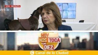 Download Los detalles de la Operación Perseo: Entrevista a Patricia Bullrich en Hoy nos toca a las Diez Video