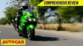 Download Kawasaki Ninja ZX-14R | Comprehensive Video Review | Autocar India Video