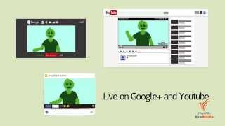 Download วิธีใช้งาน Google+ Hangouts On Air กับ Thai PBS Video
