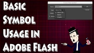 Download Adobe Flash Tutorial- Introduction to Symbols Video