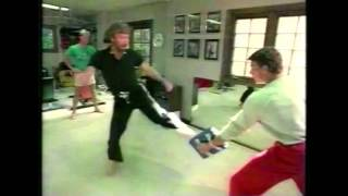 Download VAN DAMME and CHUCK NORRIS - Martial Arts Training (1984) Video